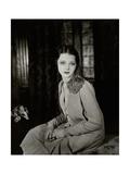 Vanity Fair - June 1927 Premium-Fotodruck von Florence Vandamm