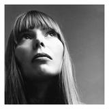 Vogue - February 1969 - Joni Mitchell Premium-Fotodruck von Jack Robinson