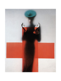 Vogue - March 1945 Photographic Print by Erwin Blumenfeld