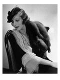 Vogue - July 1935 Premium Photographic Print by Edward Steichen