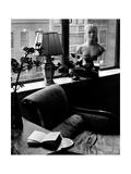 House & Garden - May 1946 Premium fototryk af André Kertész