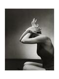 Vogue - June 1934 - Model Mannequin Premium Photographic Print by Edward Steichen