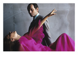 Vogue - November 1965 Premium fotoprint van Bert Stern