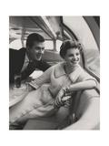 Vogue - March 1954 Photographic Print by Karen Radkai