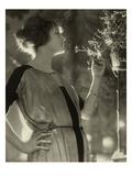 Vogue - February 1921 Stampa fotografica di Baron Adolphe De Meyer