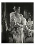 Vogue - September 1928 - Lee Miller Wears Jay Thorpe Premium Photographic Print by Edward Steichen
