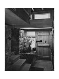House & Garden - June 1950 Premium fototryk af André Kertész