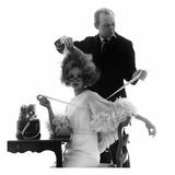 Vogue - April 1962 - Tapes and Measures Premium fotoprint van Bert Stern