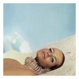 Vogue - April 1966 Premium Photographic Print by Franco Rubartelli