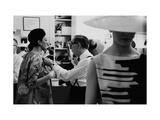 Vogue - March 1963 Premium fotoprint van Bert Stern