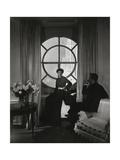 Vogue - October 1935 Premium Photographic Print by Edward Steichen
