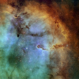 The Elephant Trunk Nebula Premium-Fotodruck von  Stocktrek Images