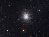 The Great Globular Cluster in Hercules Fotografie-Druck von  Stocktrek Images