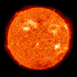 Solar Activity on the Sun Photographic Print by  Stocktrek Images