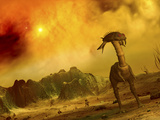 Artist's Concept of an Alien Planet Photographic Print by  Stocktrek Images