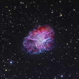 The Crab Nebula Fotografie-Druck von  Stocktrek Images