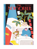 The New Yorker Cover - October 1, 1927 Premium Giclee Print by Gardner Rea