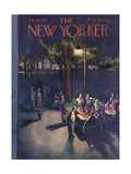 The New Yorker Cover - July 18, 1953 Premium Giclee Print by Arthur Getz
