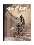The New Yorker Cover - January 5, 1998 Reproduction giclée Premium par Harry Bliss