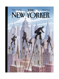 The New Yorker Cover - September 12, 1994 Giclee Print by Eric Drooker