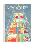 The New Yorker Cover - October 8, 1960 Premium Giclee Print by Anatol Kovarsky