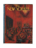 The New Yorker Cover - January 21, 1961 Giclee Print by Robert Kraus