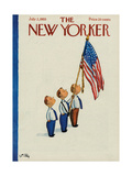 The New Yorker Cover - July 2, 1955 Giclee Print by William Steig