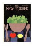 The New Yorker Cover - July 24, 1971 Premium Giclee Print by Charles E. Martin