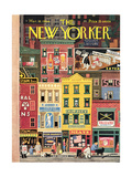 The New Yorker Cover - March 18, 1944 Reproduction procédé giclée par Witold Gordon
