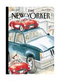 The New Yorker Cover - August 13, 2001 Reproduction procédé giclée par Barry Blitt