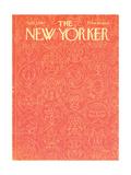 The New Yorker Cover - April 3, 1965 Giclee Print by Anatol Kovarsky