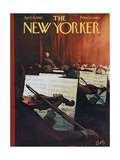 The New Yorker Cover - April 28  1962