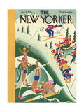 The New Yorker Cover - January 21, 1933 Premium Giclee Print by Theodore G. Haupt