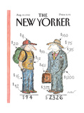 The New Yorker Cover - August 10, 1992 Giclee Print by Edward Koren