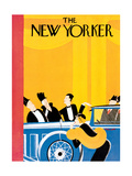 The New Yorker Cover - January 9, 1932 Premium Giclee Print by Theodore G. Haupt