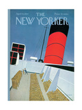 The New Yorker Cover - April 15, 1967 Premium Giclee Print by Charles E. Martin