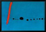 Bleu II Poster by Joan Miró
