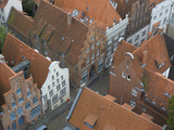 Hanseatic Houses, Late Gothic Architecture Photographic Print by  Keenpress