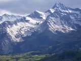 The San Miguel Range, Part of the San Juan Mountains Near Telluride Reproduction photographique par Scott S. Warren
