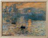 Impression, Sonnenaufgang, ca.1872 Kunstdrucke von Claude Monet