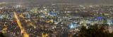 Hyper Resolution Photograph of Bogota, Columbia at Night Photographic Print by Sam Kittner