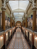 Ornate Interior and Tiled Floor at the National Gallery Reproduction photographique par Greg Dale