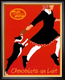 Chocolate au Lait Print by Johanna Kriesel