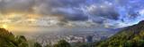 A Panoramic View of Bogota, Colombia Premium fototryk af Sam Kittner