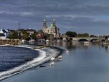 Athlone in County Westmeath, Ireland Photographic Print by Chris Hill