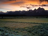 Grand Teton National Park at Sunset Photographic Print by Aaron Huey