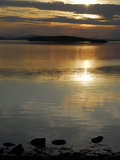 Sunset over the Calm Waters of Penobscot Bay, Maine Photographic Print by Anne Keiser