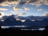 Jackson Lake in Grand Teton National Park Photographic Print by Aaron Huey