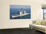 The Ticonderoga-Class Guided-Missile Cruiser Uss Shiloh Wall Mural by  Stocktrek Images