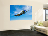 A Supermarine Spitfire MK-18 in Flight Wall Mural by  Stocktrek Images